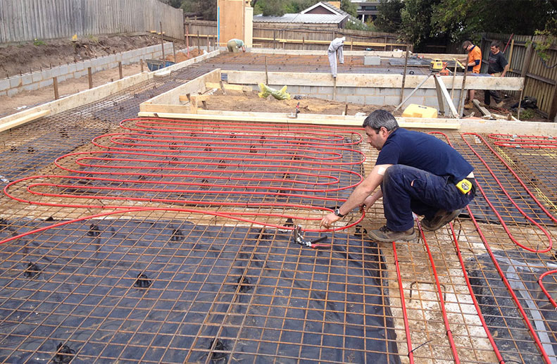 Hydronic Heating Under Floor In Slab Archives