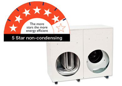 THM 5 star ducted gas heating product from Braemar