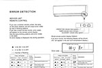Error code Fujitsu wall split heating & cooling system brochure
